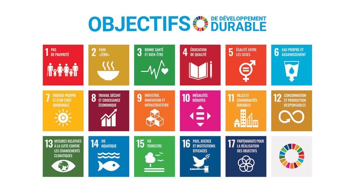 Objectifs developpement durable site