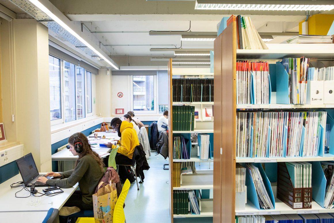 Campus woluwe bibliotheque