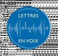 Lettres en voix Logo Secondaire rond ave